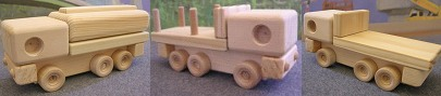 See our tough alpha line of wood toys