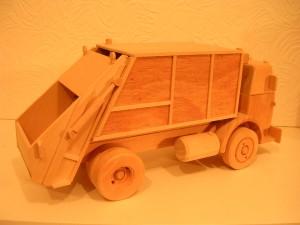 model refuse hauler